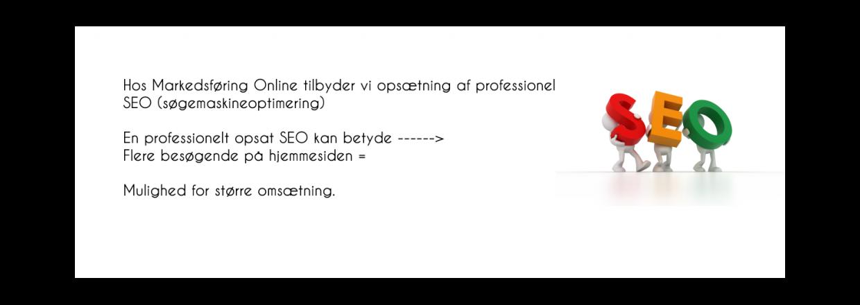 L�s mere om SEO her på siden, eller kontakt os så vi sammen kan få opsat en effektiv SEO til din virksomhed